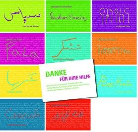 danke-fuer-ihre-hilfe in verschiedenen Sprachen